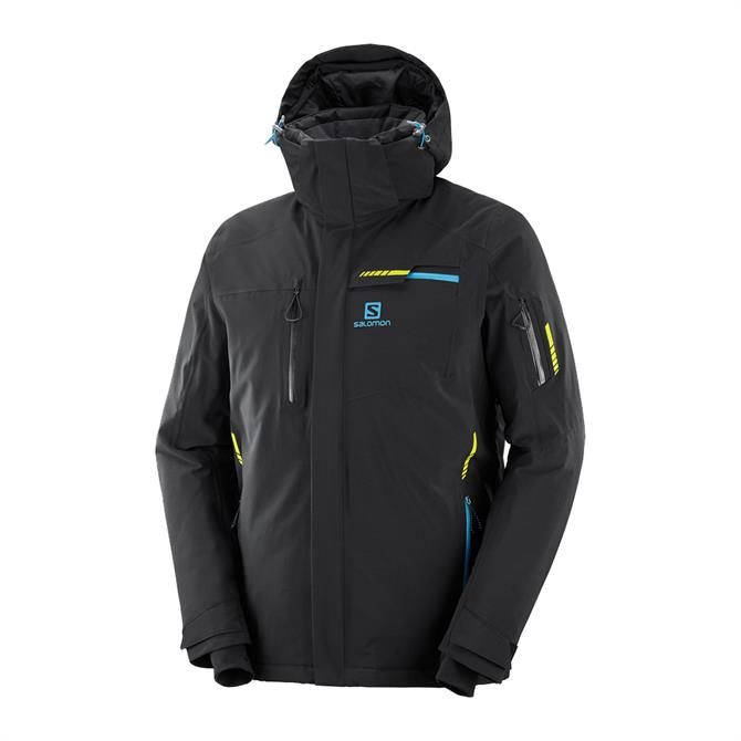 Salomon Men's Brilliant Ski Jacket - Black