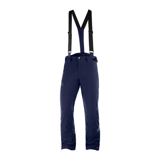 Salomon Men's IceGlory Ski Pants - Navy