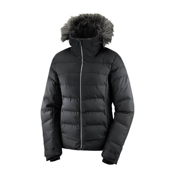 Salomon Women's StormCozy Ski Jacket - Black