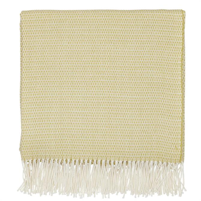 Sanderson Home Coraline Chartreuse Woven Throw