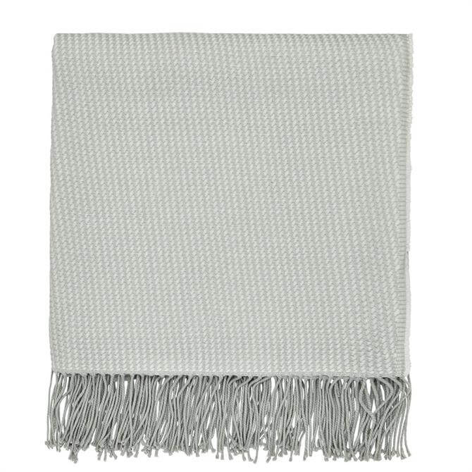 Sanderson Home Sea Kelp Grey Woven Throw