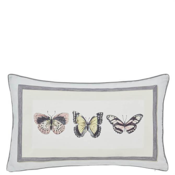 Sanderson Clementine Butterfly Cushion