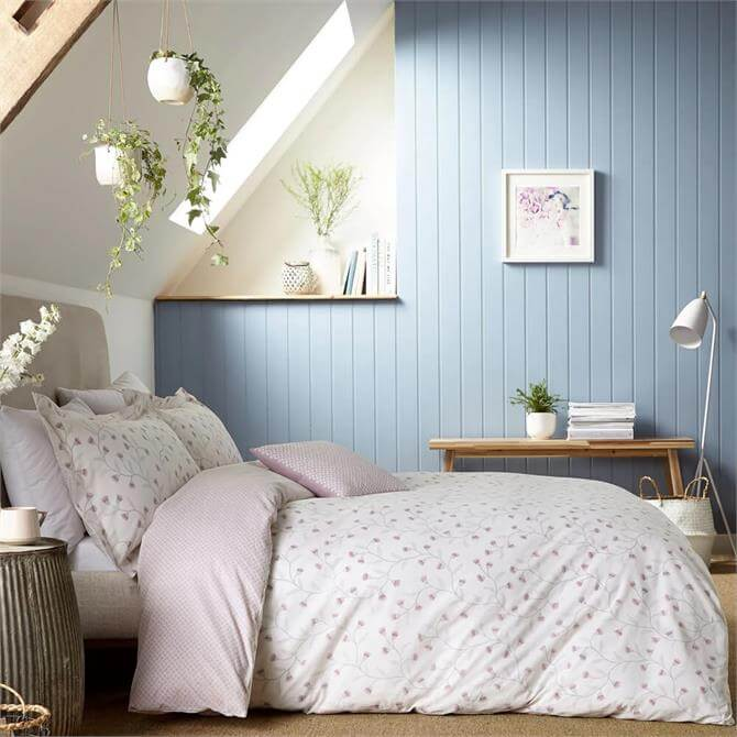 Sanderson Everly Duvet Cover Set in Heather