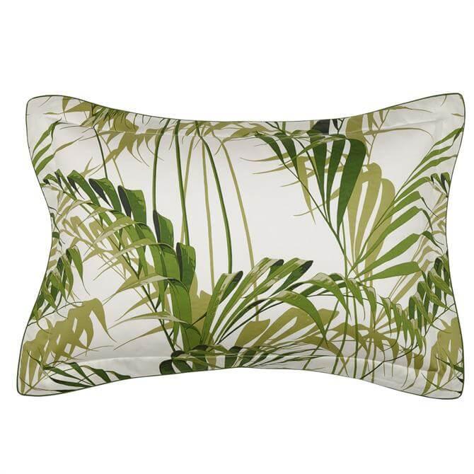 Sanderson Green Palm House Oxford Pillowcase