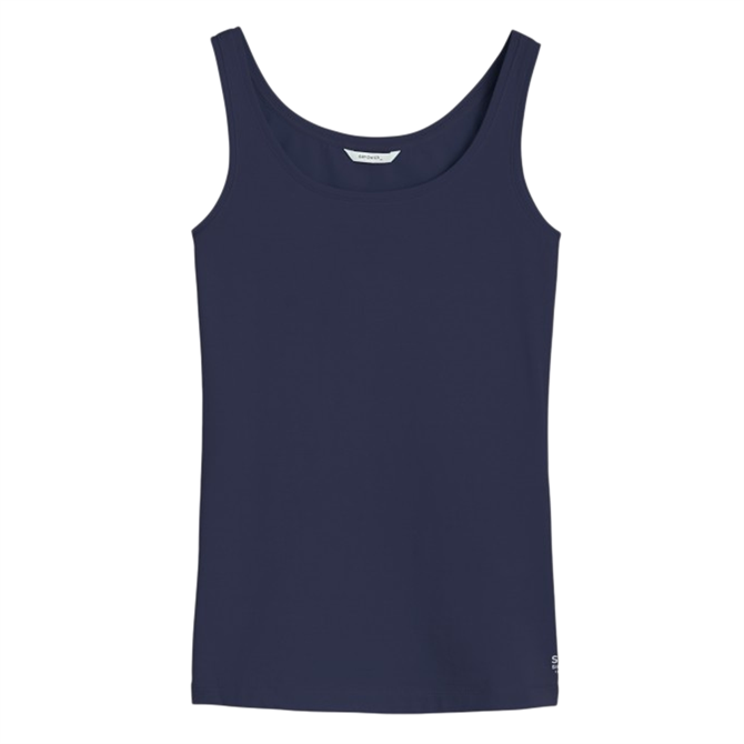 Sandwich Sleeveless Fitted Top