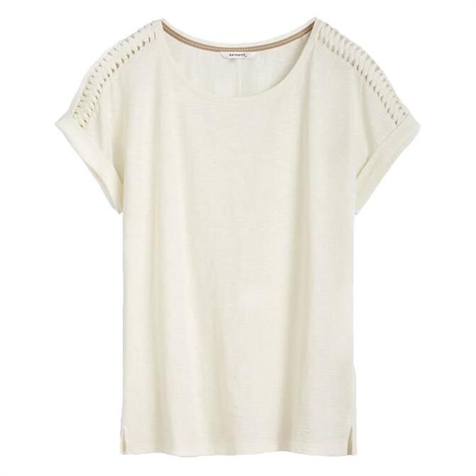 Sandwich Shoulder Detail T-Shirt