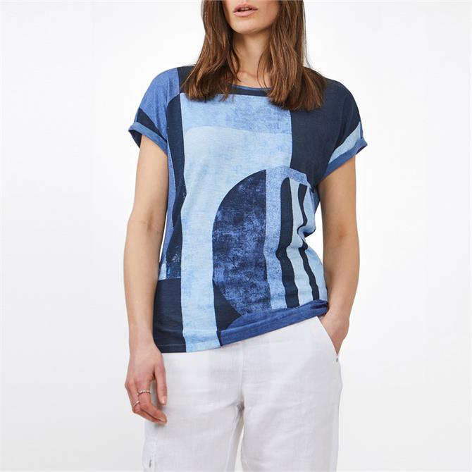 Sandwich Abstract Print T-Shirt