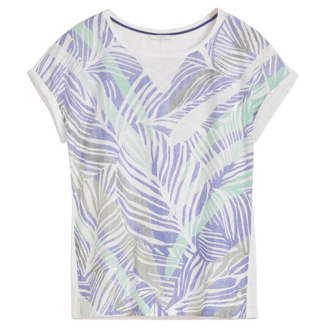 Sandwich Botanical Leaf Print T-Shirt