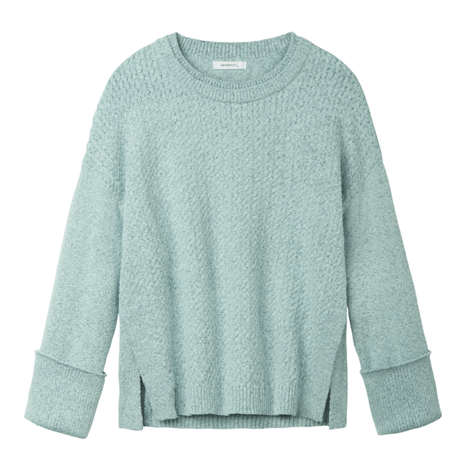 Sandwich Double Neckline Sweater