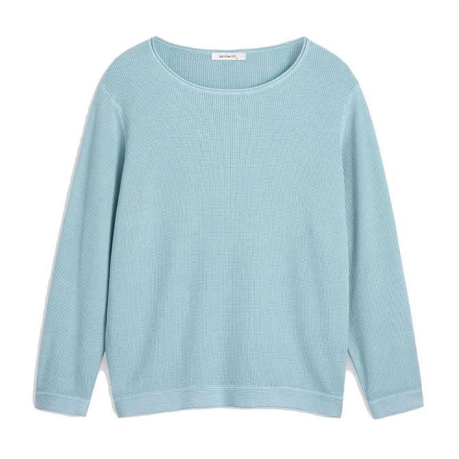 Sandwich Casual Fine Textured Sweater