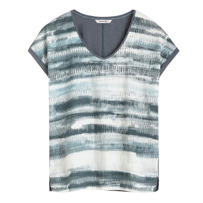 Sandwich Horizon Print T-Shirt