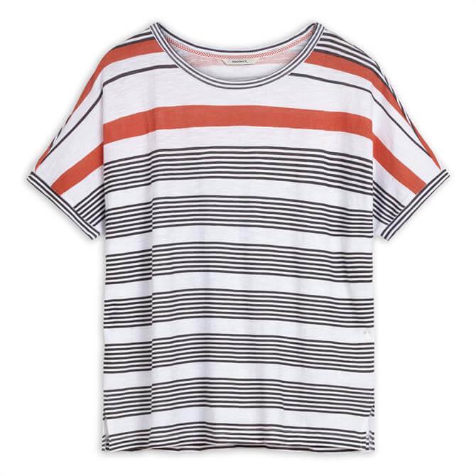 Sandwich Oversized Striped T-Shirt