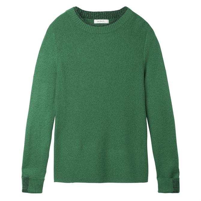 Sandwich Mottled Round Neck Sweater