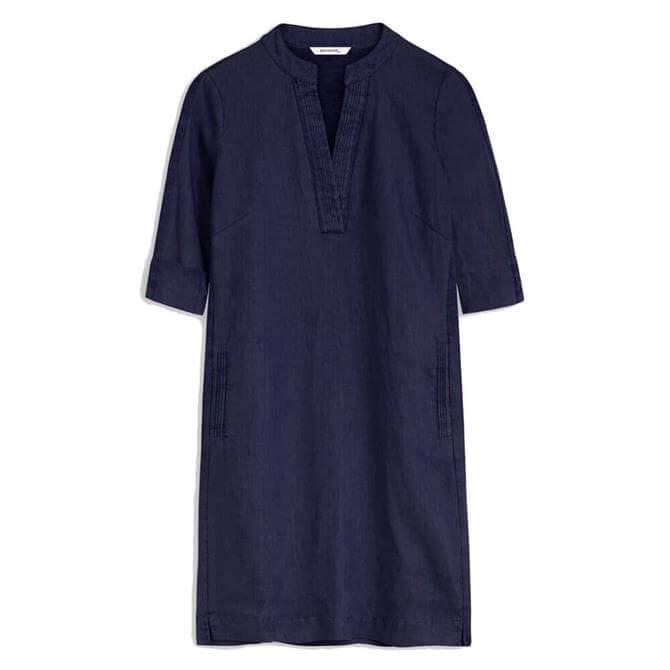 Sandwich Short Linen Dress