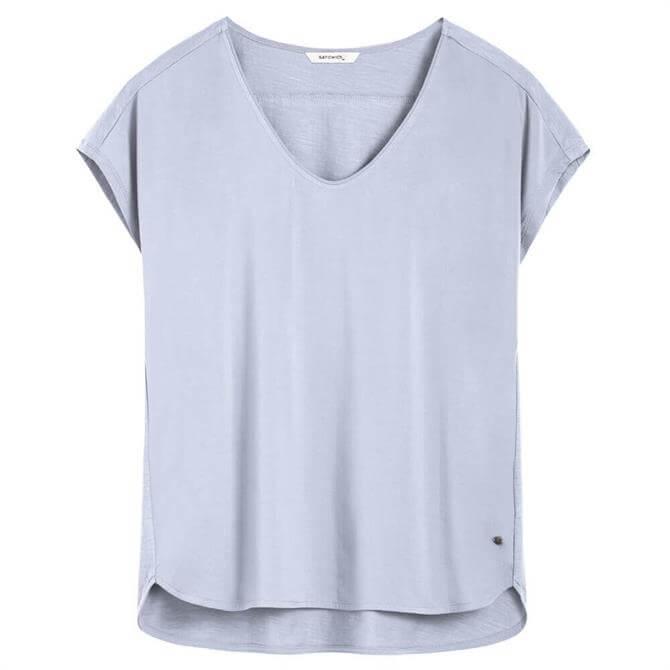 Sandwich Sky High Soft V-Neckline T-Shirt