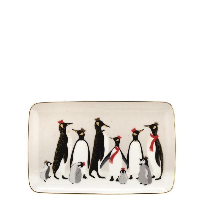 Sara Miller London Portmeirion Penguin Serving Tray