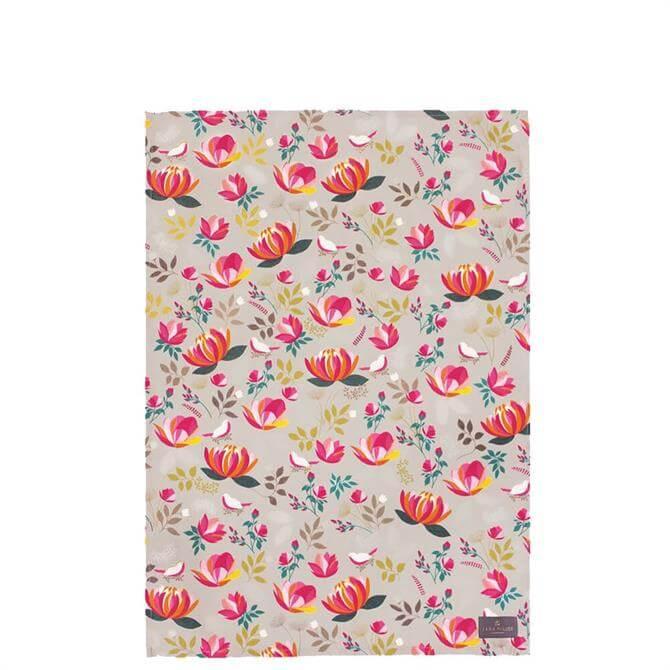 Sara Miller London Peony Tea Towel