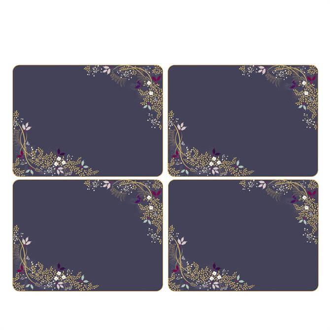 Sara Miller London Portmeirion Garland Set of 4 Placemats