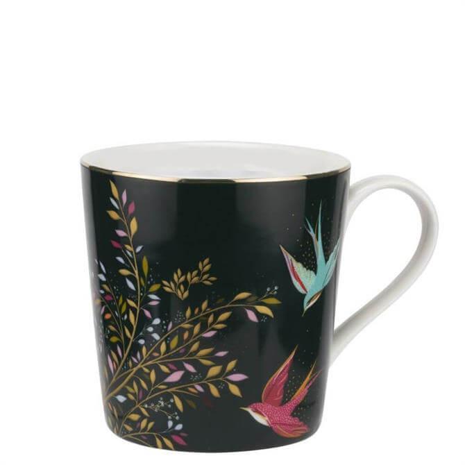 Sara Miller London Dark Green Chelsea Collection Mug