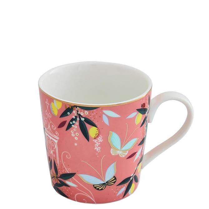 Sara Miller London Portmeirion Coral Orchard Mug