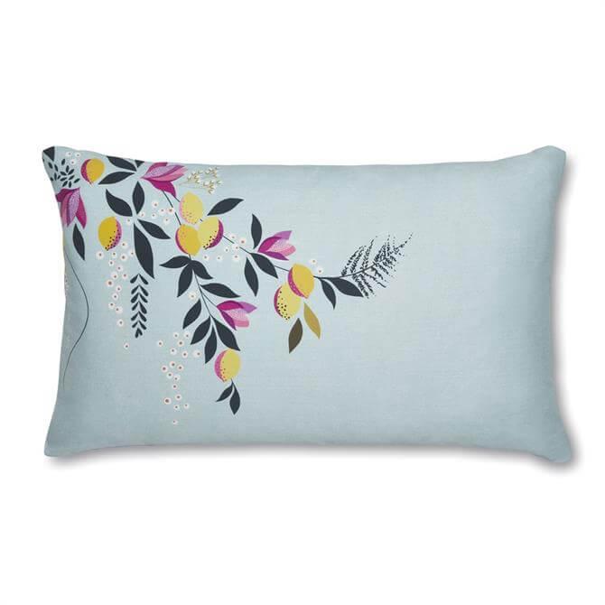Sara Miller London Bird & Gate Pair of Standard Pillowcases
