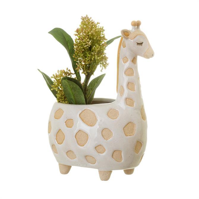 Sass & Belle Giraffe Planter