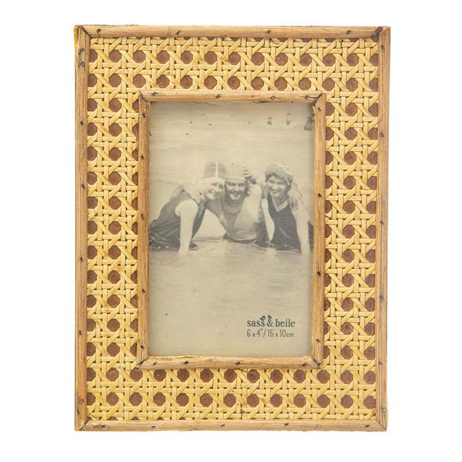 Sass & Belle Open Weave Photo Frame 6x4