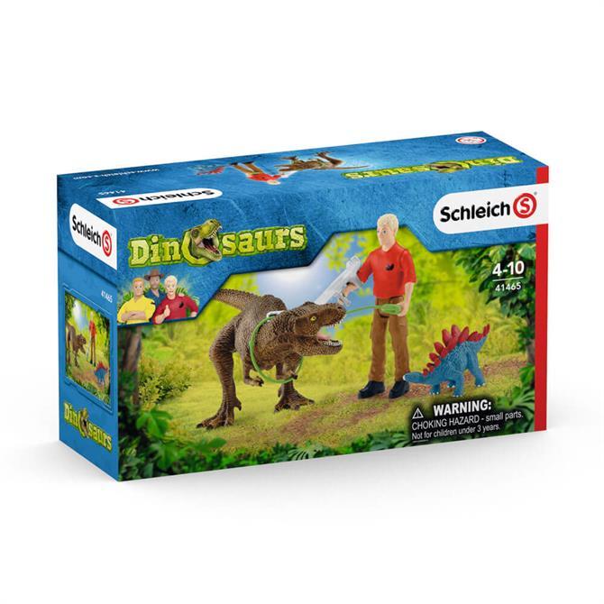 Schleich Dinosaurs Tyrannosaurus Rex Attack 41465