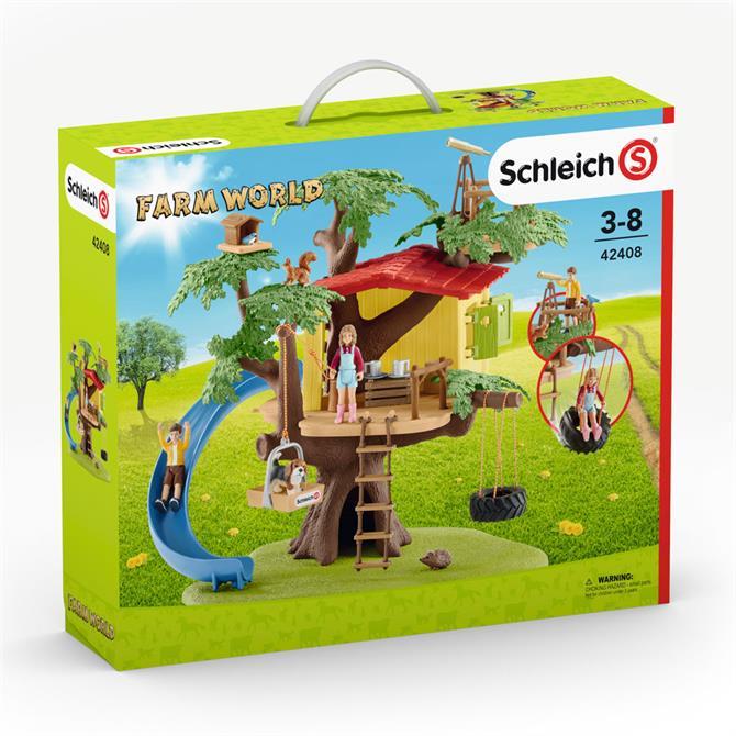 Schleich Farm World Adventure Tree House 42408