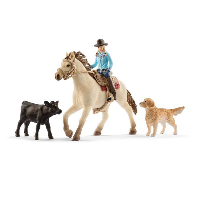 Schleich Farm World Western Riding 42419