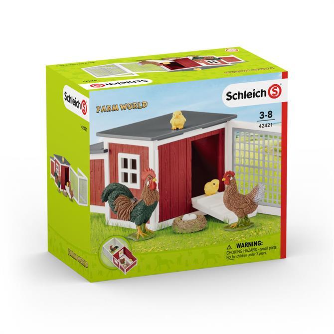 Schleich Farm World Chicken Coop 42421