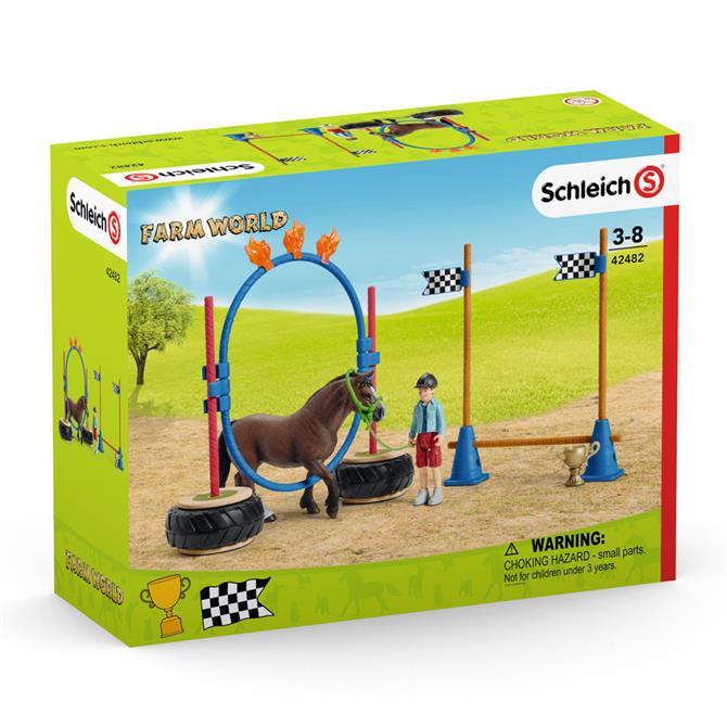 Schleich Farm World Pony Agility Race 42482