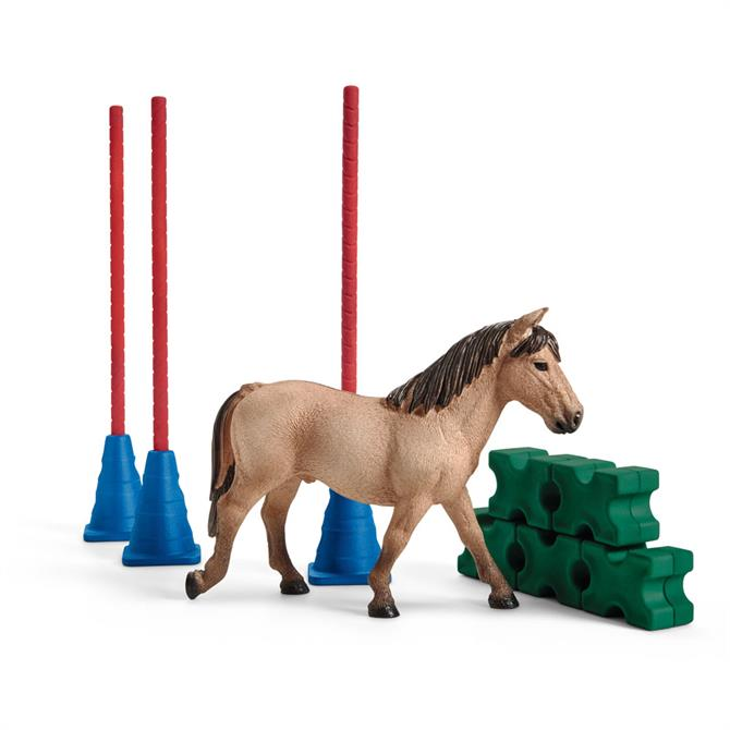 Schleich Farm World Pony Slalom 42483