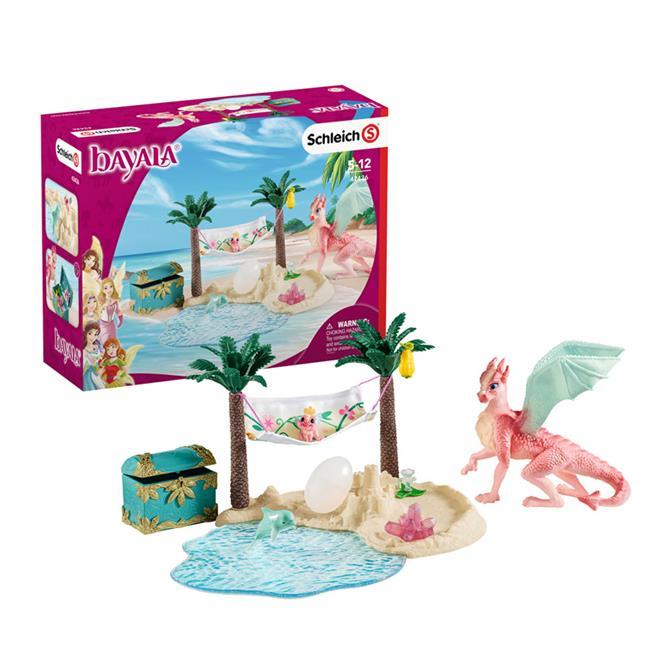 Schleich Dragon Island with Treasure Set