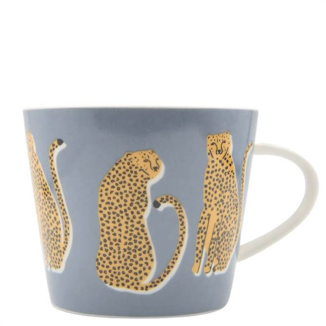 Scion Lionel Leopard Denim Mug