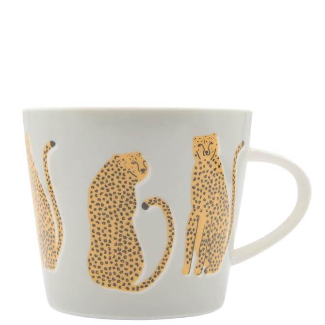 Scion Lionel Leopard Grey Mug