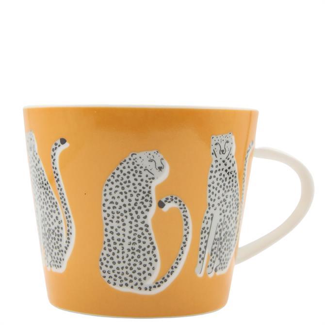 Scion Lionel Leopard Orange Mug