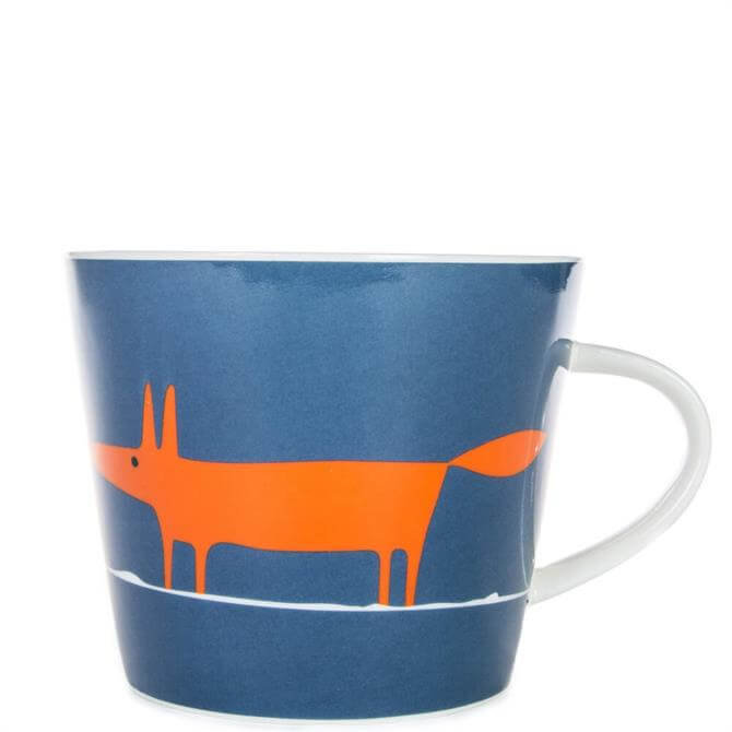 Scion Mr Fox Denim & Orange Mug