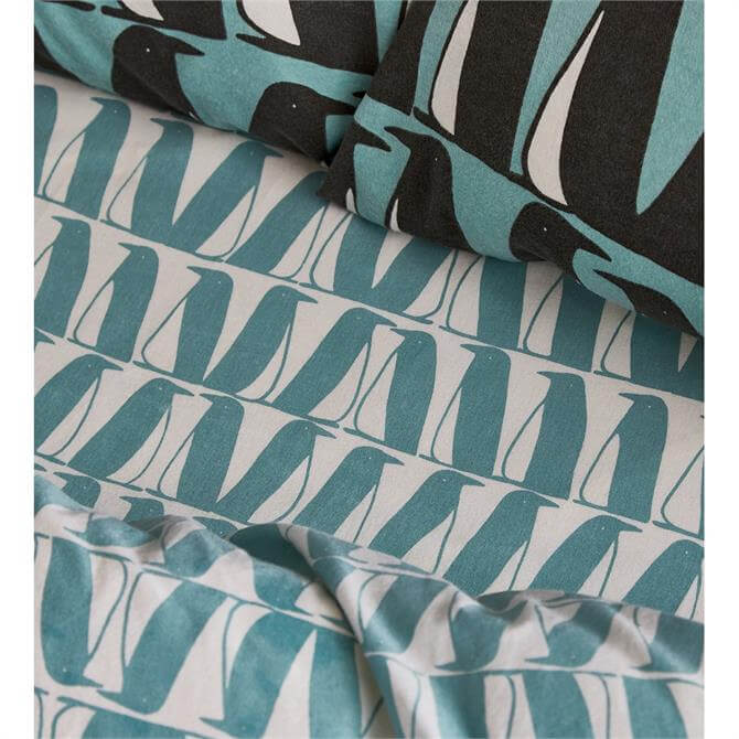 Scion Pedro Fitted Brushed Cotton Sheet