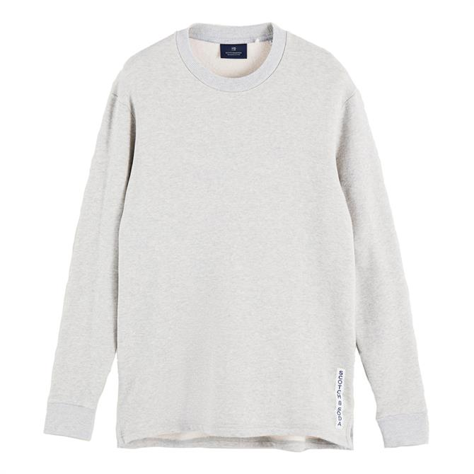Scotch & Soda Pure Cotton Lightweight Sweatshirt