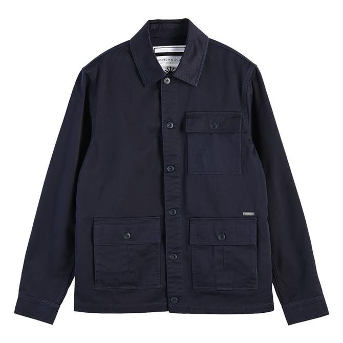 Scotch & Soda Cotton Structured Field Jacket