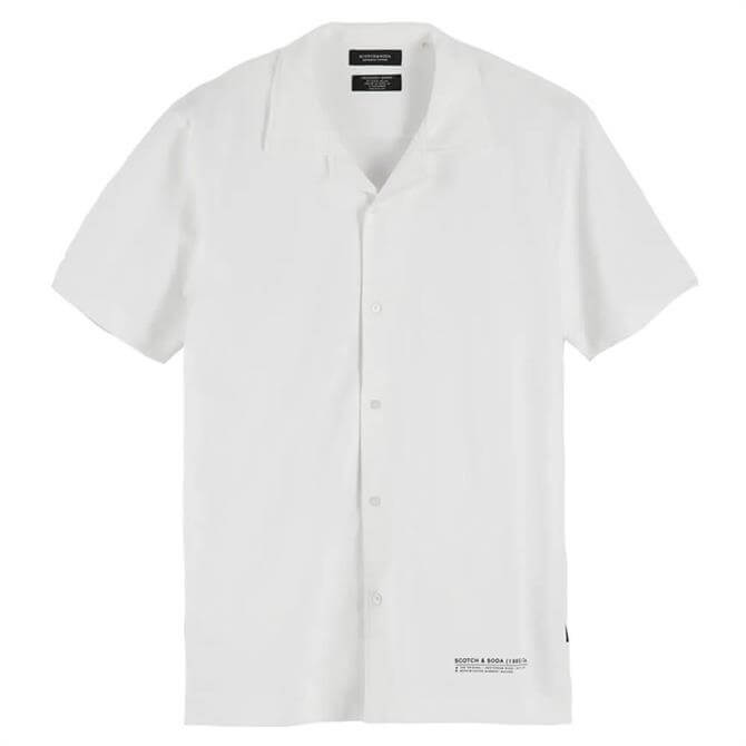 Scotch & Soda Short Sleeved Piqué Shirt