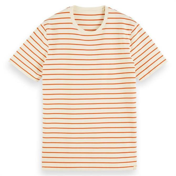 Scotch & Soda Jersey Cotton Blend T-Shirt