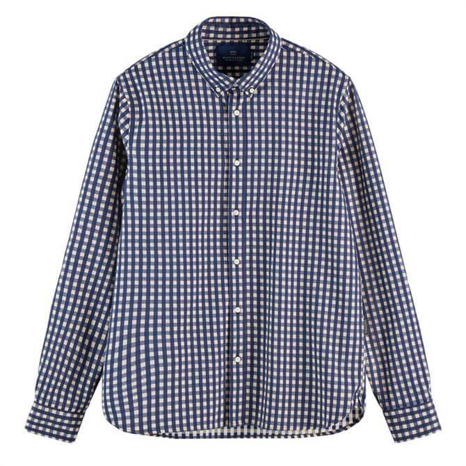 Scotch & Soda BB-Check Cotton Shirt