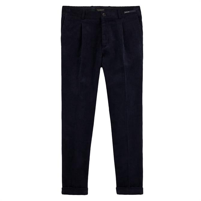 Scotch & Soda Blake Corduroy Slim Fit Chino Trousers