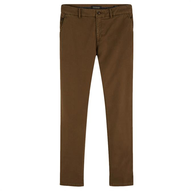 Scotch & Soda Stuart Stretch Cotton Chino Trouser