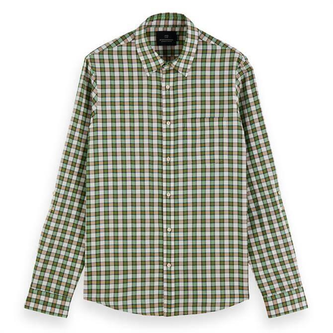 Scotch & Soda Yarn-Dyed Cotton Shirt