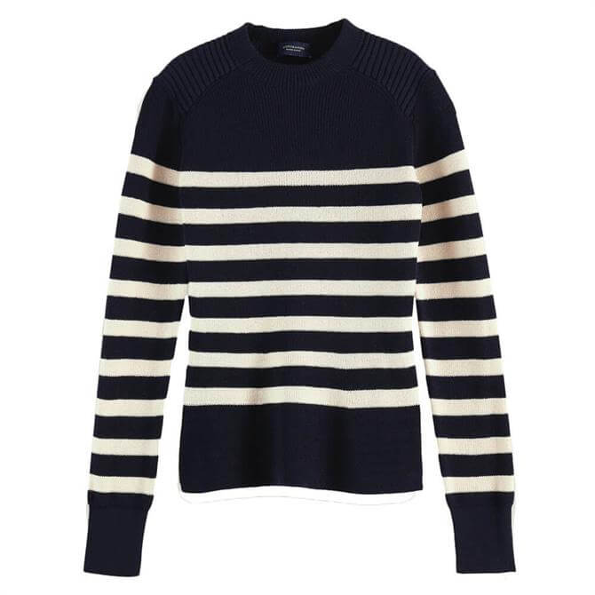 Scotch & Soda Breton Knitted Jumper