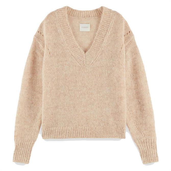 Scotch & Soda Fuzzy Knit Sweater