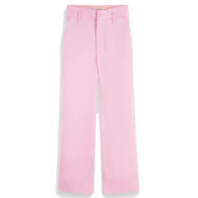 Scotch & Soda Cropped Crepe Trousers